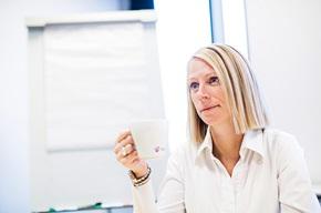 – I bedrifter som får mange spørsmål om fakturaen, kan det være nyttig å bruke eyetracking for å få en bedre forståelse av hva kundene faktisk ser på, sier Jane Poulsen.
