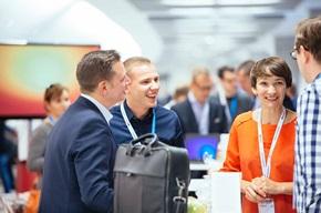 Strålfors var en av utstillerne på e-handelsmessen i Warszawa. Marta Malecka er Sales Director i Strålfors i Polen.