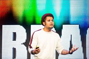 – Sørg for at produktene og tjenestene dine får kundene til å forelske seg i dem, sier Rahul Lindberg Sen, Lead Growth Designer i Spotify.