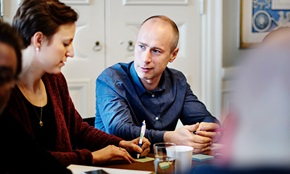 Karin Rydh og Jacob Lindborg, prosjektledere, PostNord Strålfors.