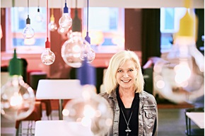Carina Björkefors, Chief Development Officer  i det nordiske finansieringsselskapet EnterCard.